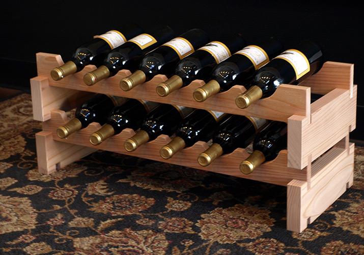 Wine Rack Scalloped Kitchen Wine Racks 6 18 Wine Bottles