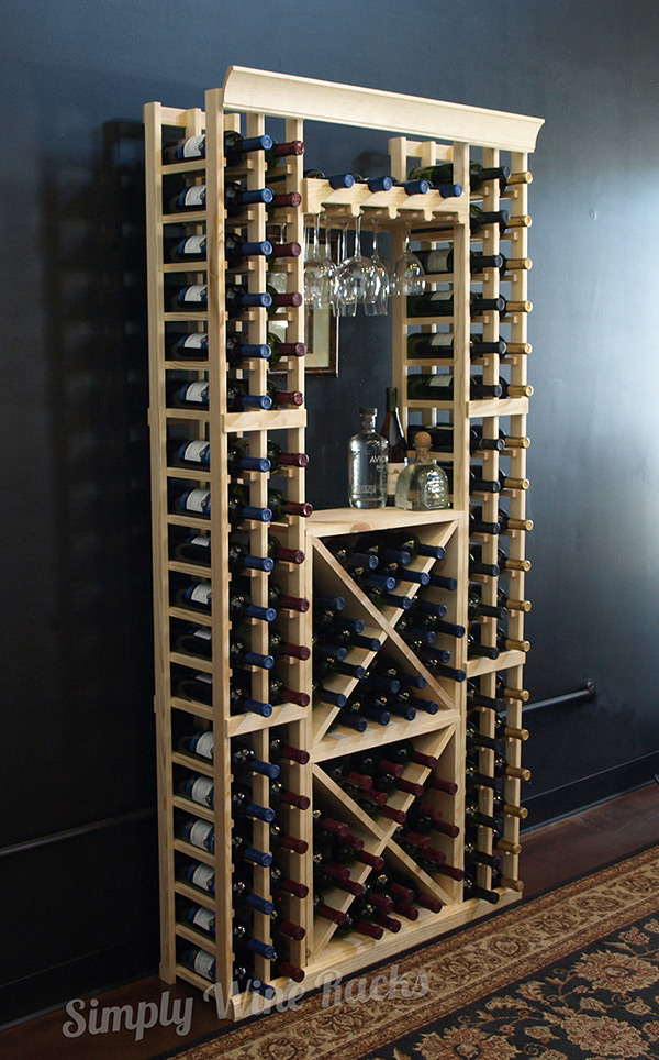 Our Kit Wine Cellar Racks have become a standard for many of our wine cellar customers. In fact, many of our resellers and installers use Vigilant Kit Wine Cellar Racks as the wine racks for their custom wine cellar projects.